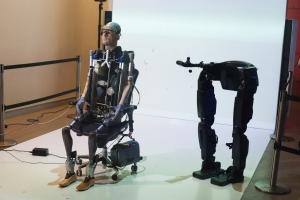 bionic man at science museum (2013)rex-with-legs