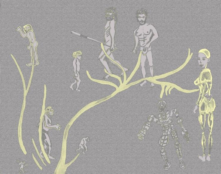 Evolution;cRAYON CONT